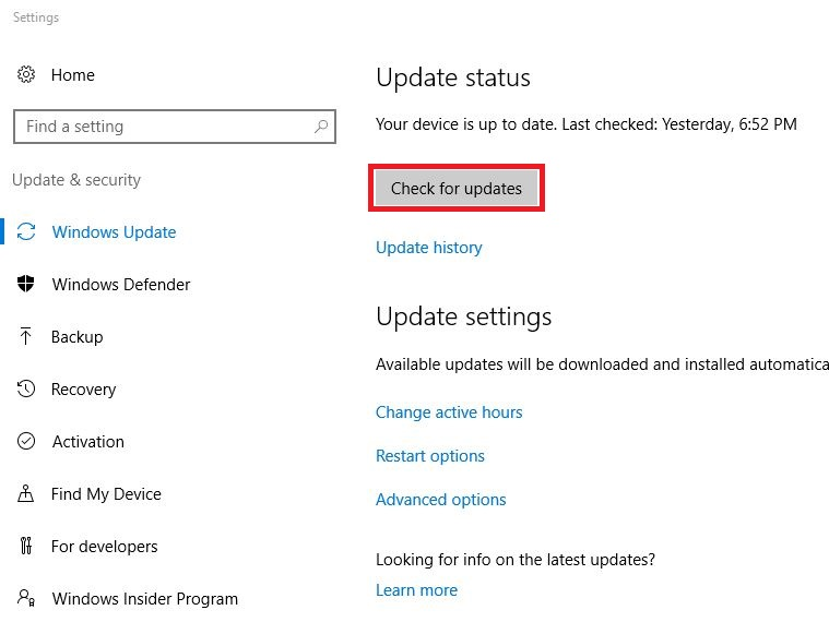 windows-10-check-for-updates