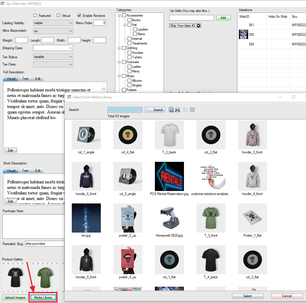 woocommerce-load-images-from-wordpress-media-library